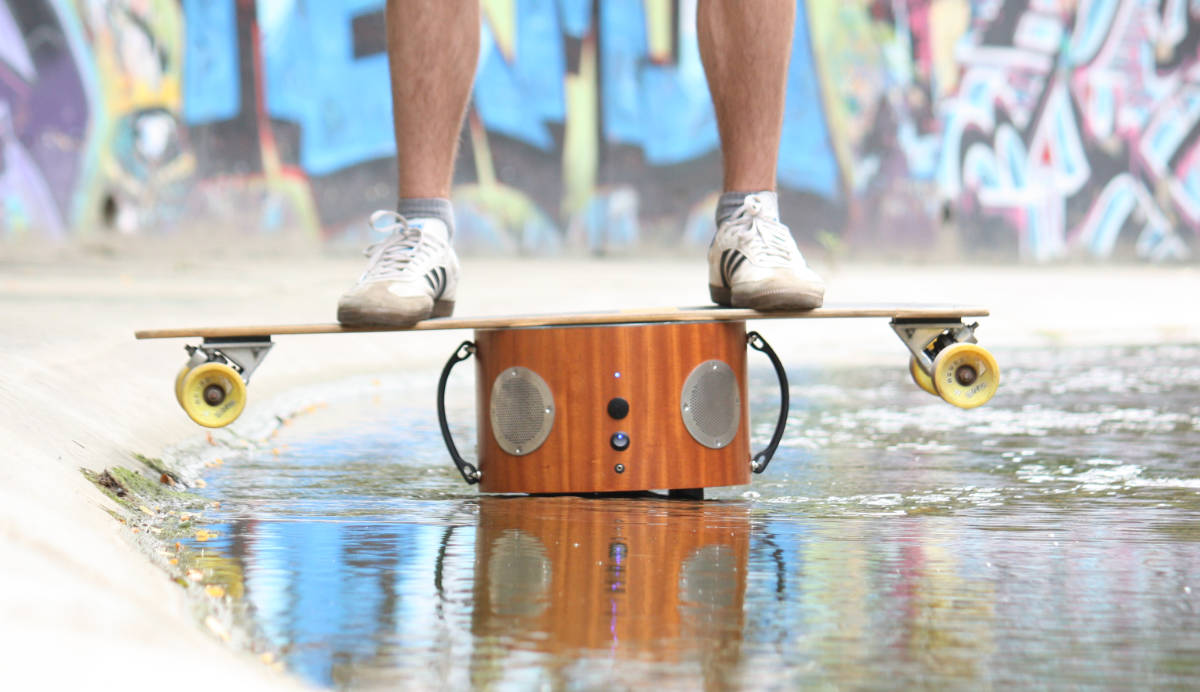 Sunny is a Premium Wood Speaker Built to Last a Lifetime